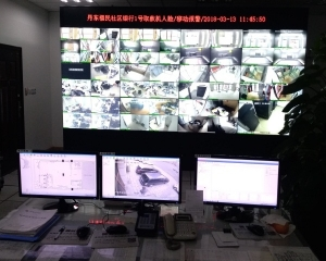 广发银行丹东分行监控中心